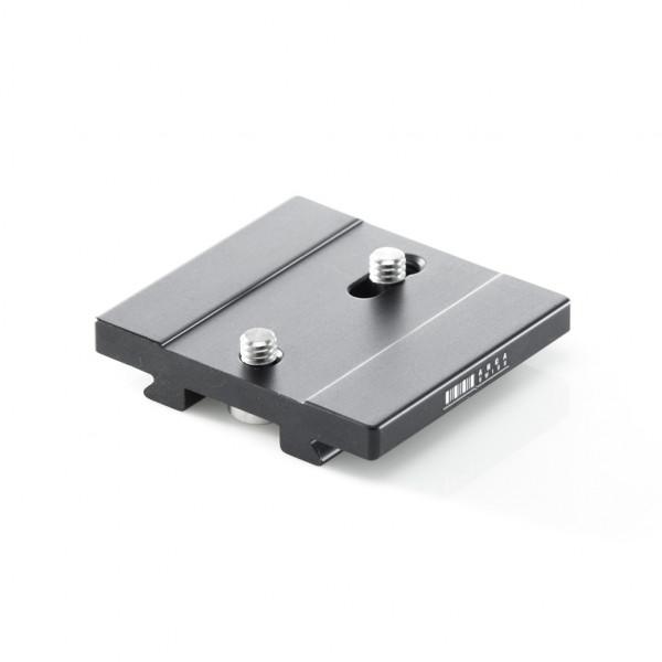 Kameraplatte 55mm, 2 x 1/4, a=28-40mm