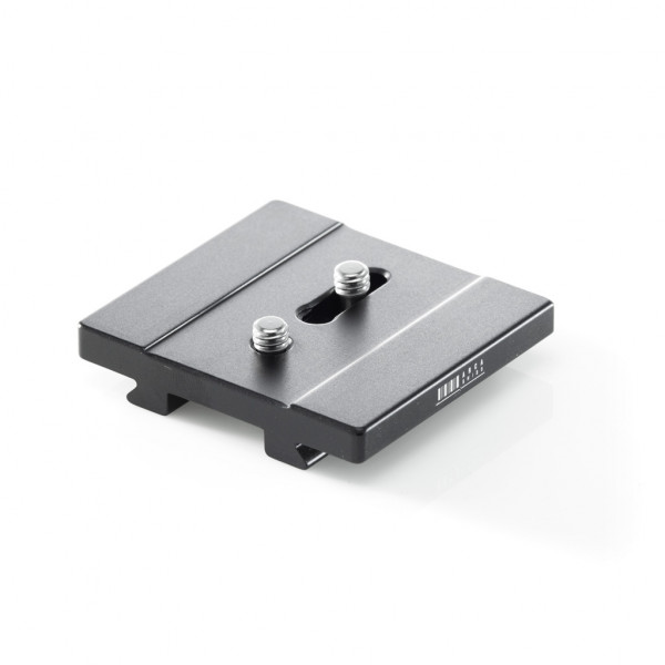 Kameraplatte 55mm, 2 x 1/4, a=12-28mm