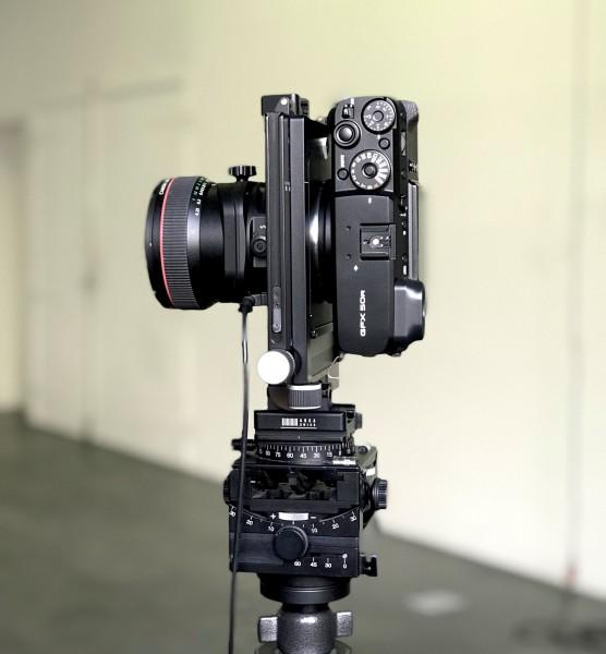 R-Adapter Fuji GFX 50R MF